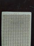 ガス・バーナーで使用される陶磁器の版の赤外線陶磁器の版