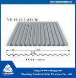 Il tetto ondulato ha preverniciato la lamiera di acciaio galvanizzata PPGL ricoperta zinco di colore PPGI