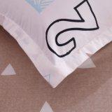 2018 Novo design do conjunto de roupa de cama impressos de poliéster