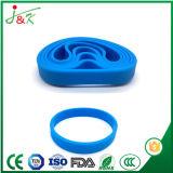 Silicone promocionais Pulseira bracelete de borracha Bangle para desporto e das partes