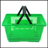 Yuanda Supermarket / Shopping Handle Basket with New PP Material