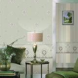 Haut papier peint non-tissé écumant avec la frontière de papier de mur