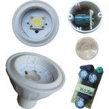 COB 3W 5W 7W 9W 11W 15W GU10 MR16 Spot à LED avec CE SAA UL RoHS