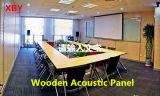 Panneau décoratif acoustique de mur en bois de fente