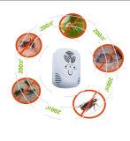 害虫駆除は、最も遅くすべての種類の昆虫のための波の害虫の防水加工剤、最もよい害虫のRepellerおよび齧歯動物、青い夜ライトが付いている超音波害虫駆除装置二倍になる