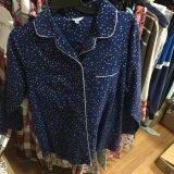 印刷されたパジャマをくまなくコットンフランネル