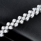 Браслет ювелирных изделий изготовленный на заказ подарка захвата Bridal с кубическим Zircon