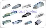 Material do corpo da lâmpada de alumínio Painel Solar de baterias de lítio luzes da rua