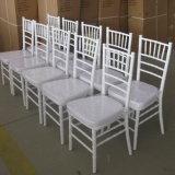 فندق حديثة عرس مأدبة بيضاء خشبيّة [شفري] [تيفّني] كرسي تثبيت