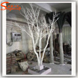 Design distinctif ornement arbre blanc artificielle