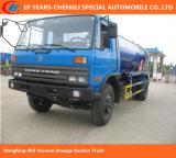 Camion di aspirazione delle acque luride di Dongfeng 4X2 con il pulsometro