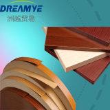 Fascia di bordo di legno del PVC di colore per la mobilia