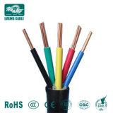 5X10mm2 600/1000V IEC 60502-1 com isolamento de PVC Cabo de Alimentação Elétrica