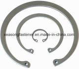 Anel de retenção de aço inoxidável / Anel de retenção para os orifícios (DIN472J)