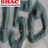 Зеленый абразив карбида кремния (порошок и песчинка)