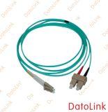 Cordon de connexion optique de la fibre Om3