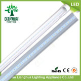 High Efficiency Aluminium + Housse PC 1.2m 18W G13 T8 LED Tube