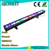 24pcs 3W1 3RVB iin LED IP65 Projecteur mural