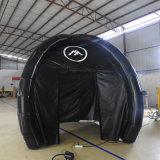Aufblasbares schwarzes gedichtetes Zelt