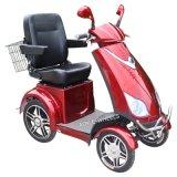 Vierwielige Gehandicapte Elektrische Autoped, de Autoped van de Mobiliteit voor Oudere Mensen