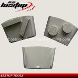 Этап конкретного металла системы HTC меля для полировать пола
