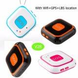 Mini/Uiterst kleine Draagbare GPS Drijver voor Persoonlijk/Kind/Volwassene met geo-Omheining V28