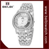 Wristwatch женщин подарка ювелирных изделий диаманта Belbi роскошный
