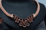 L'oro indiano della Rosa dei monili ha placcato gli insiemi nuziali dei monili di cerimonia nuziale