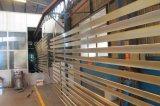 Usine Wood-Color EXW Prix obturateur de buse en aluminium industriel décoratifs Prfoile