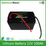batteria di Bluetooth della batteria di litio di 12V 100ah