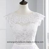 Новые поступления Custom-Made Backless свадебные платья сарафан кружево свадебные платье