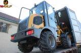 Wolf WL80 mini cargadora de ruedas con motor EPA