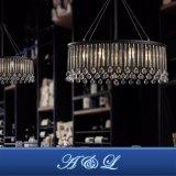 現代デザインガラス水晶シャンデリアのペンダント灯