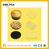 6PCS/Set 7 дюйма сковороде воздуха аксессуары для выпечки фритюрницы корзину пицца пластины гриля Pot коврик Multi-Functional кухонные принадлежности с возможностью горячей замены