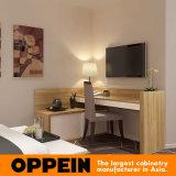 제조자 현대 목제 곡물 PVC 거실 호텔 가구 (OP16-HOTEL02)