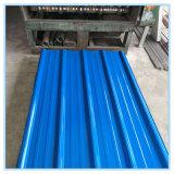 Chapa de tejadilho de ferro galvanizado/folha de metal de metal galvanizado para a Malásia