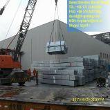 Grilles galvanisées pour la structure métallique et la couverture de fossé