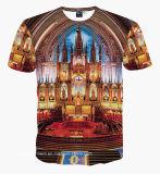 T-shirt estampé par 3D neuf en gros de modèle (A027)