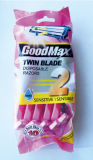 DoppelBlade Disposable Razor in Hanging Card (Goodmax)
