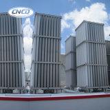 Vaporizzatore ambientale dell'aria industriale dell'ossigeno liquido con la pompa di riempimento ed il serbatoio criogenico