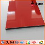 PE панели полиэфира Ideabond Signboard ACP алюминиевого составного напольный