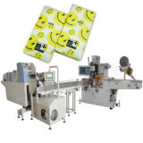 Mini Facial de embalaje de tejido de bolsillo un pañuelo de papel que hace la máquina