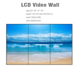 mur visuel de épissure de Displayer d'annonce de l'affichage à cristaux liquides 49inch avec l'encadrement de 3.5mm