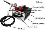 2015 de Beste Verkopende Uitrustingen van de Compressor van het Luchtpenseel van Producten Mini