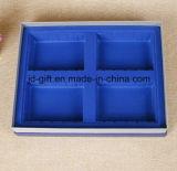 عالة طباعة صلبة ورقيّة ورق مقوّى حزمة صندوق مع صينيّة ملحقة