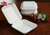 Containers van het Voedsel van 100% de Biologisch afbreekbare Verpakkende Meeneem