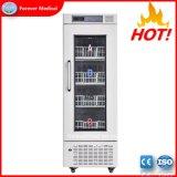 Médicos clínicos de alta calidad utilizados en posición vertical refrigerador del banco de sangre (BBR210)
