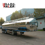 3 acoplado de aluminio del depósito de gasolina del árbol 42000L con la suspensión del bolso de aire hecha en China