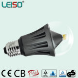 2015 la plus nouvelle DEL Bulbs avec E27 A60 8W CRI95 Aluminum Housing