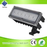 lámpara ligera del césped de 6W RGB LED